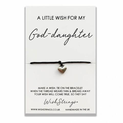 A Little Wish For My God-daughter ... Wishing Bracelet.